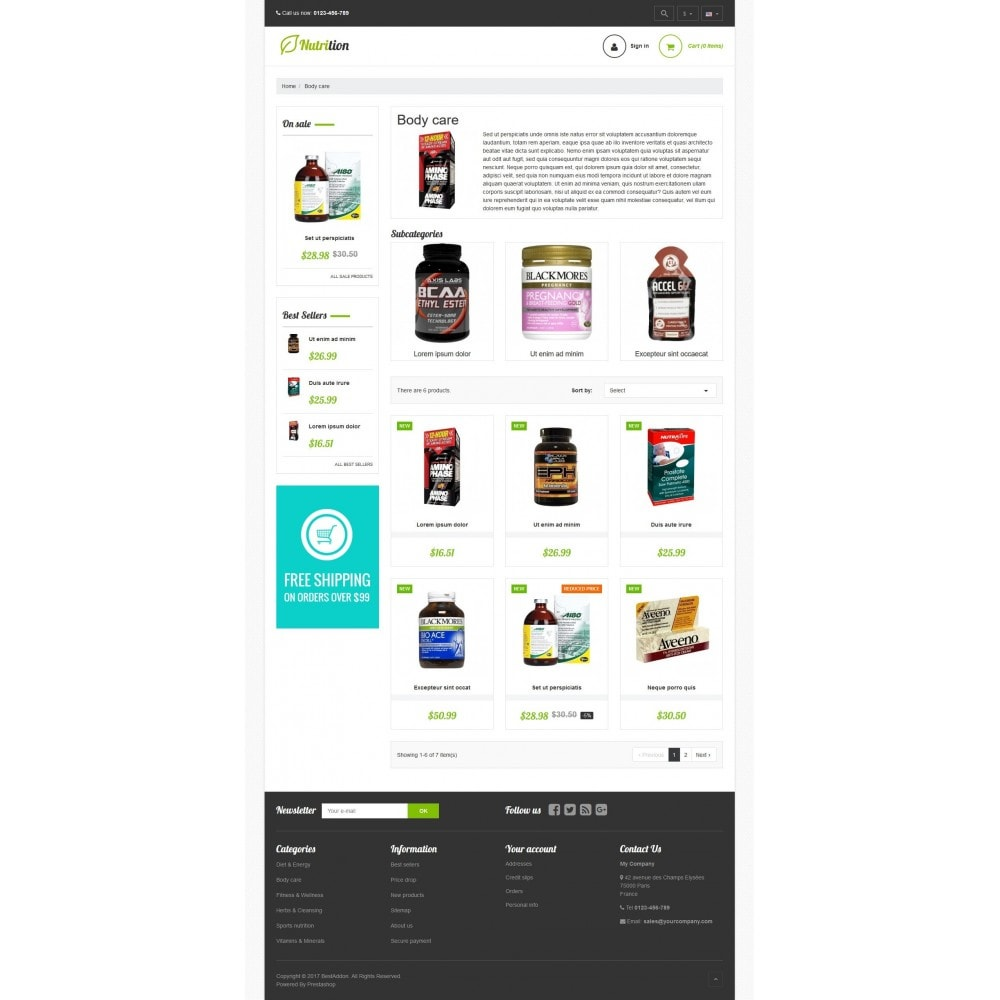 theme - Health & Beauty - VP_Nutrition Store - 3