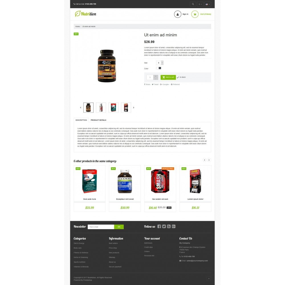 theme - Health & Beauty - VP_Nutrition Store - 4