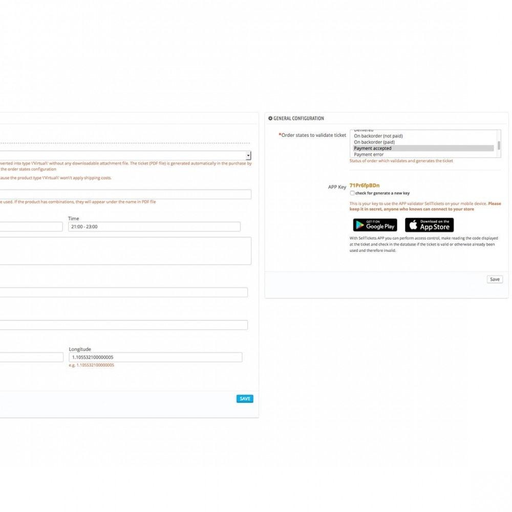 """module - Web de Reservas y Alquiler - Venta de tickets/entradas """"SellTickets"""" - 3"""