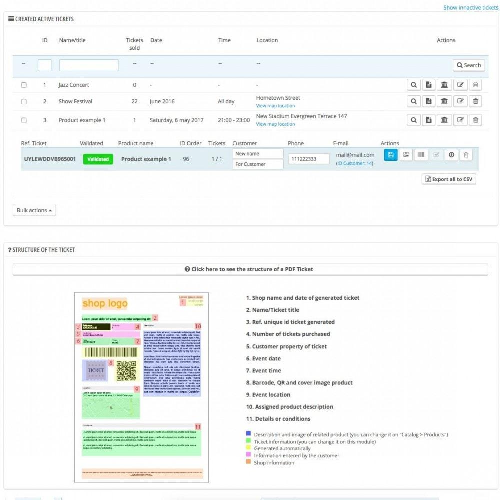 """module - Web de Reservas y Alquiler - Venta de tickets/entradas """"SellTickets"""" - 5"""