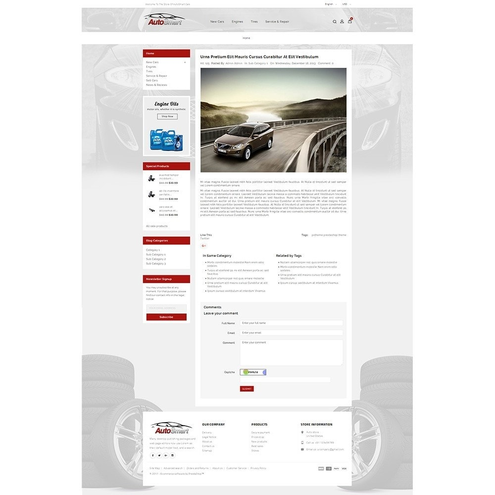 theme - Coches y Motos - Auto smart store - 8