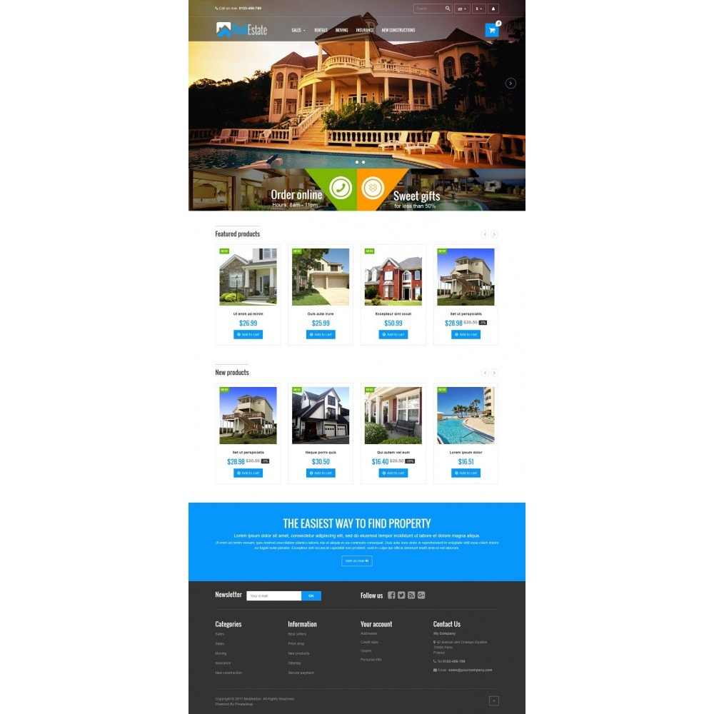 theme - Дом и сад - VP_RealEstate Store - 2