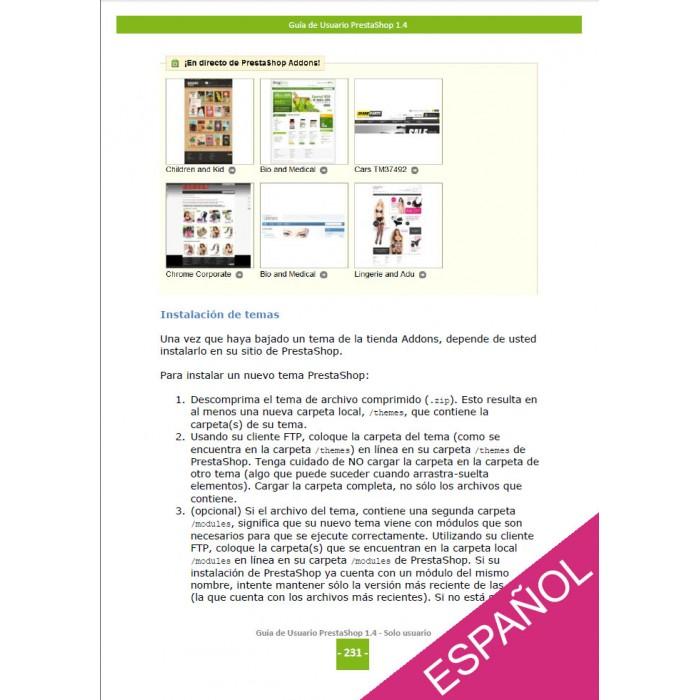 other - Guía del usuario - PrestaShop 1.4  Guía del usuario - 3