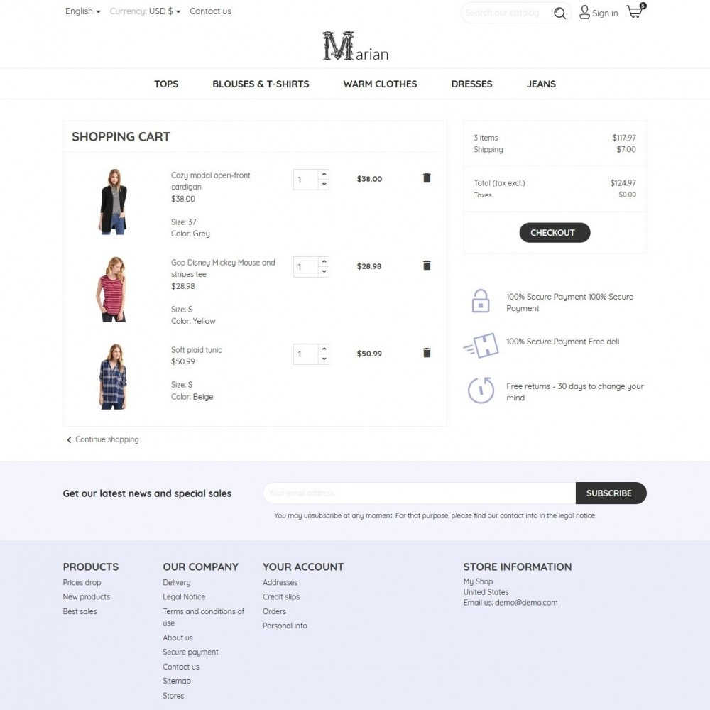 theme - Mode & Schuhe - Marian Fashion Store - 8