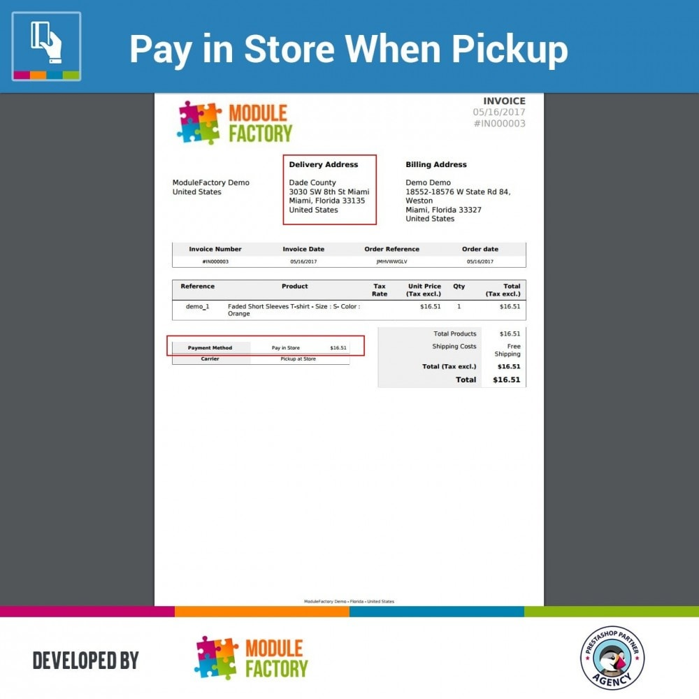 module - Paiement en Magasin - Pay in Store When Pickup - 5