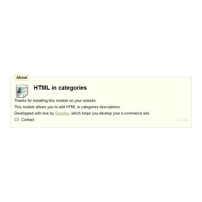 module - Адаптация страницы - HTML in category description - 3