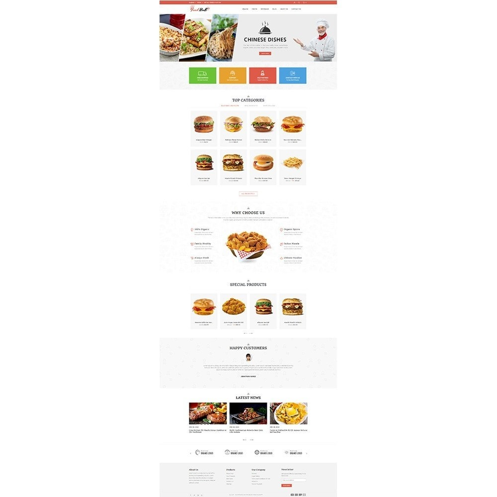 theme - Alimentation & Restauration - Food hub - 2