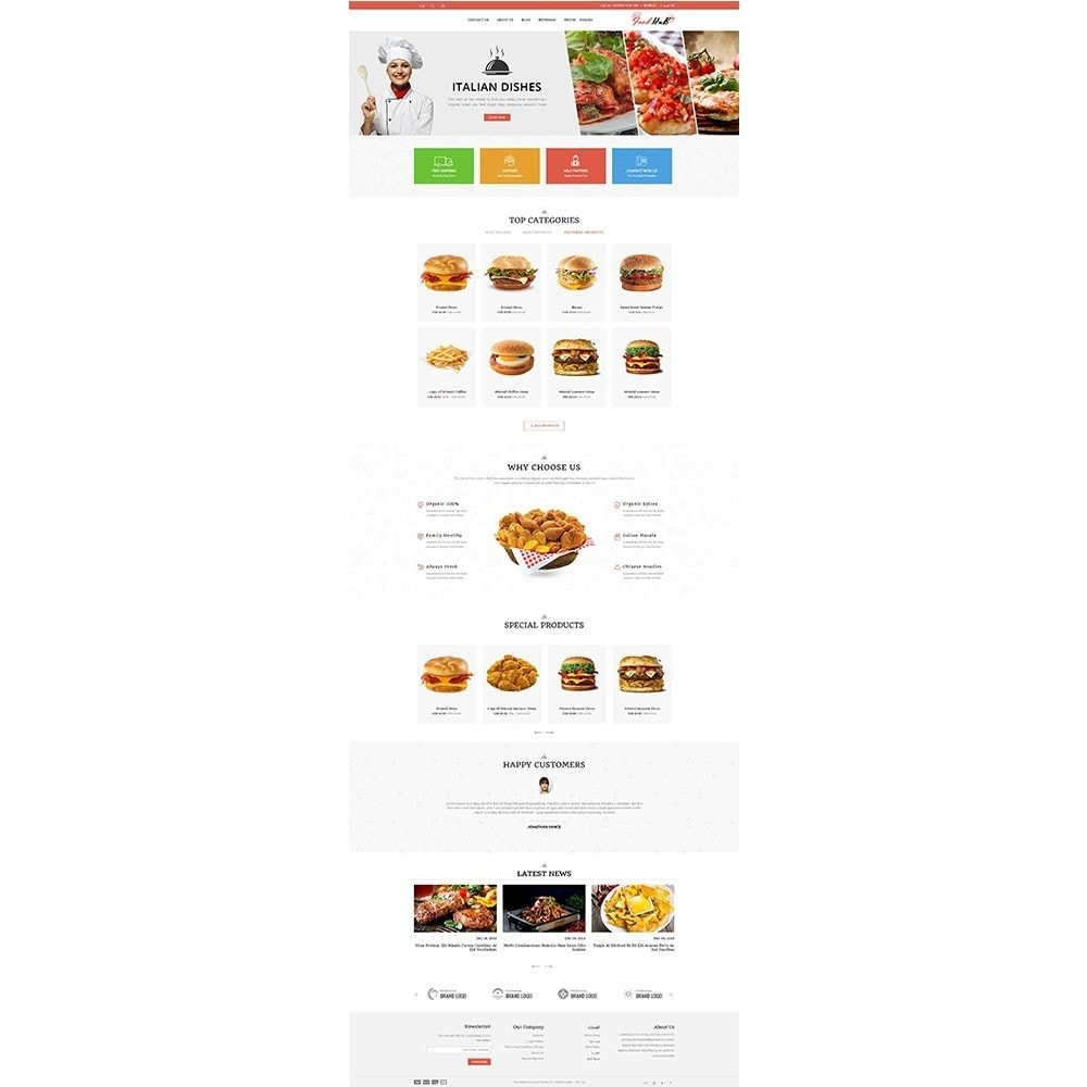 theme - Alimentation & Restauration - Food hub - 6