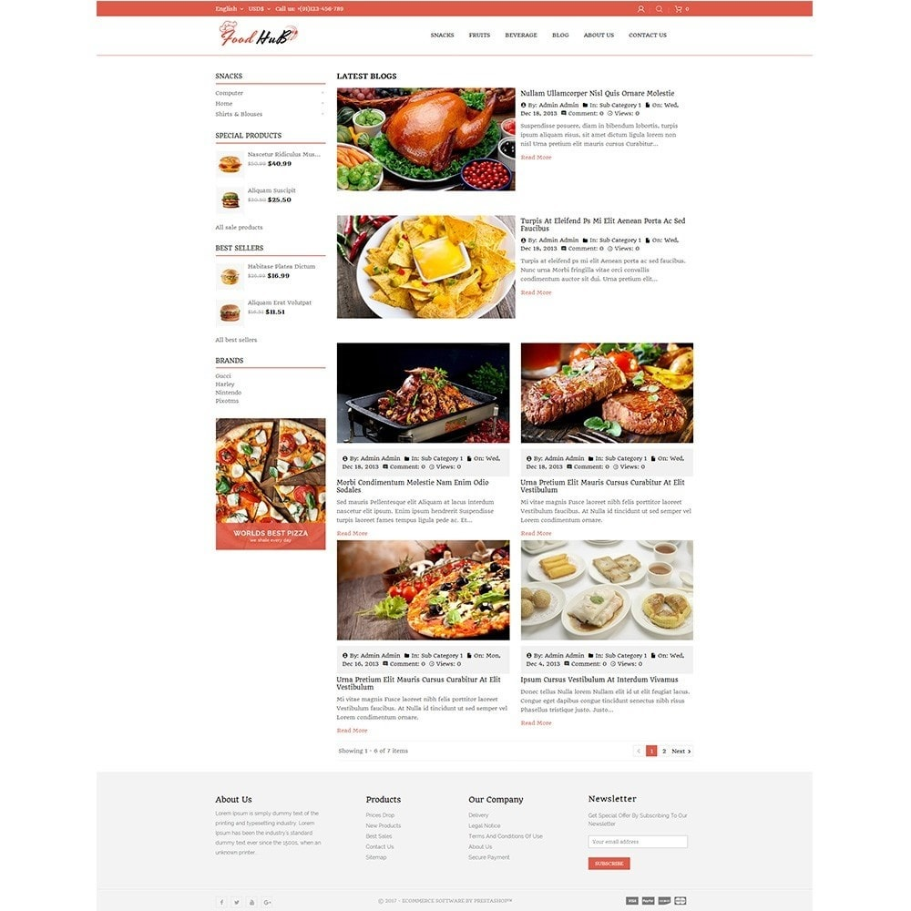 theme - Alimentation & Restauration - Food hub - 9