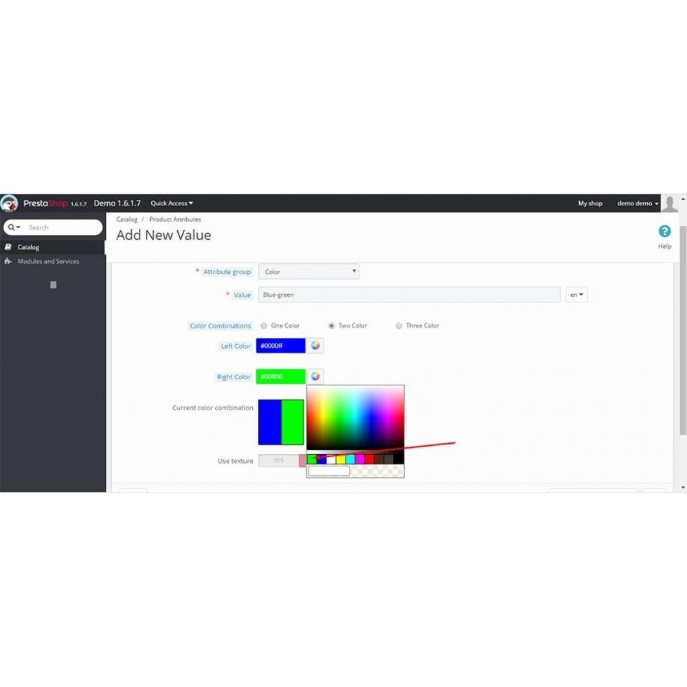 module - Diversificação & Personalização de Produtos - Color Combo - Multiple Color Attrubutes - 5