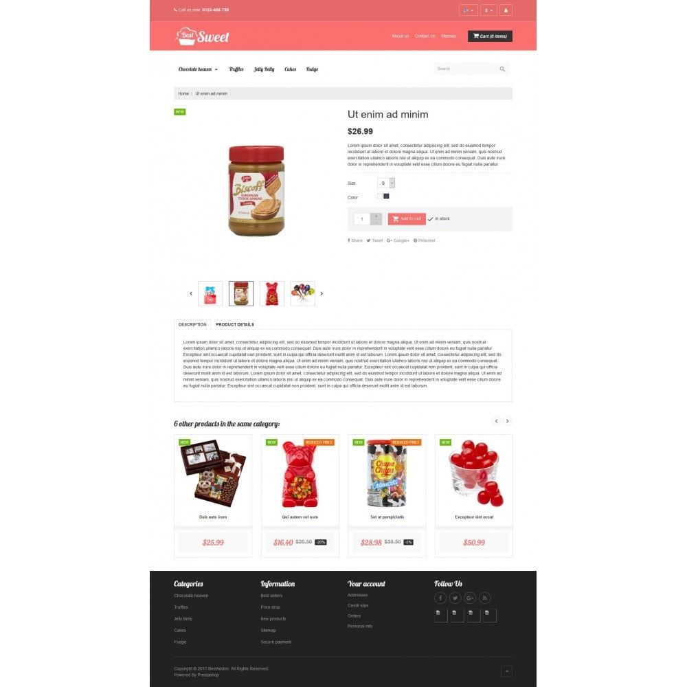theme - Lebensmittel & Restaurants - VP_Sweet Store - 4