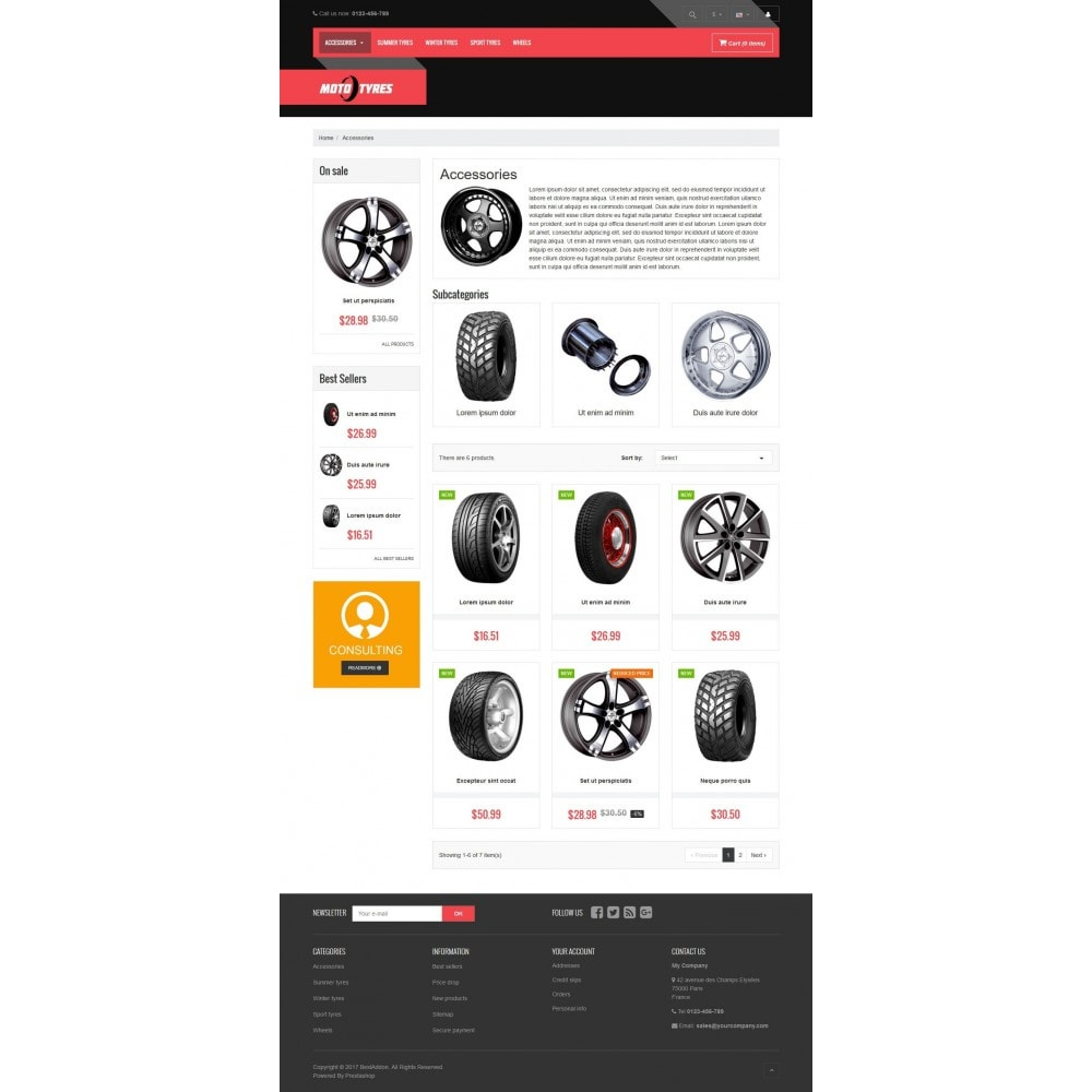 theme - Automotive & Cars - VP_Tyres Store - 3