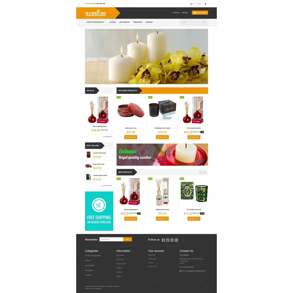 VP_Candles Store