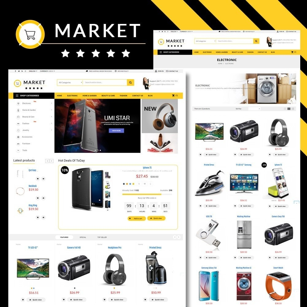 Omarket Store