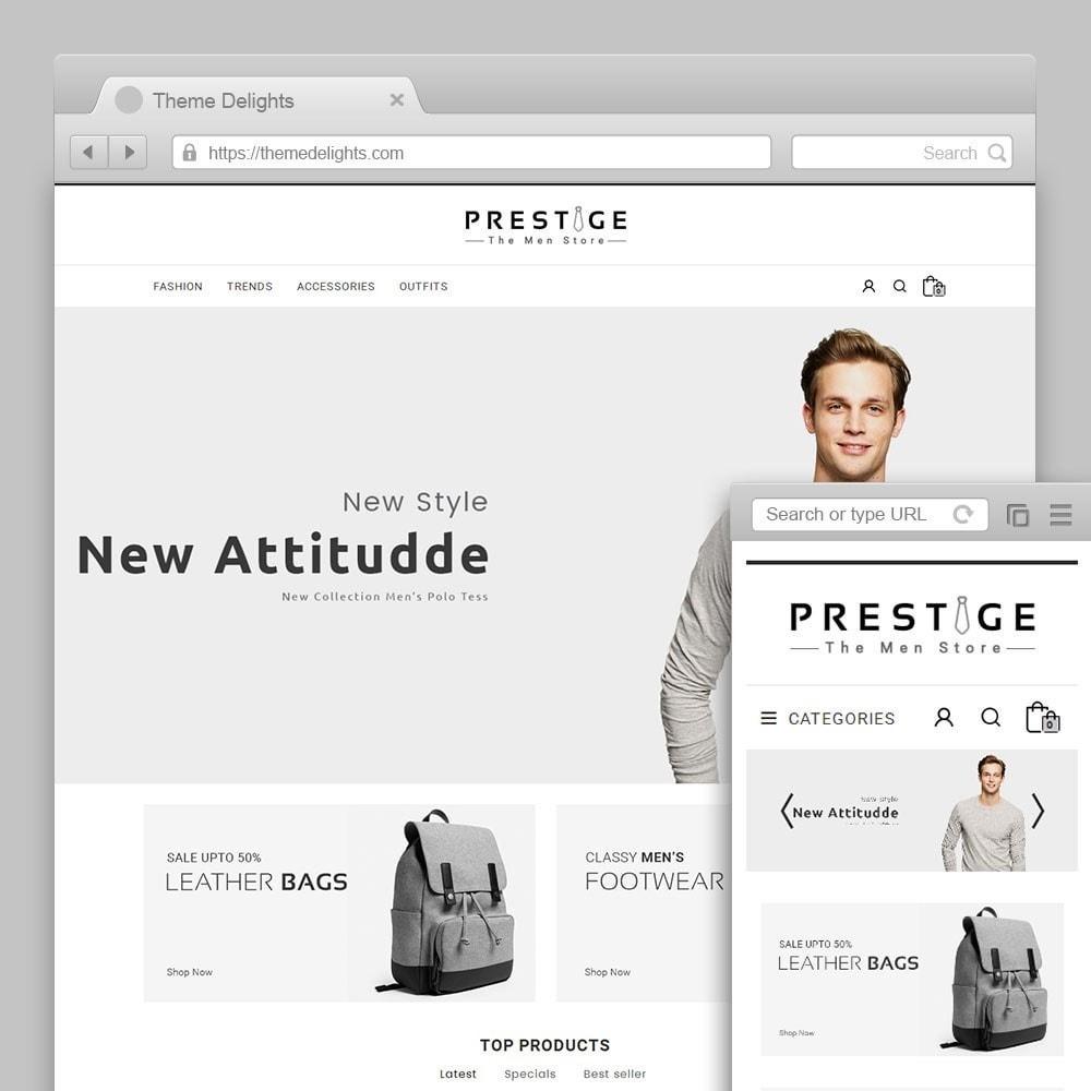 theme - Мода и обувь - Prestige Fashion Store - 1