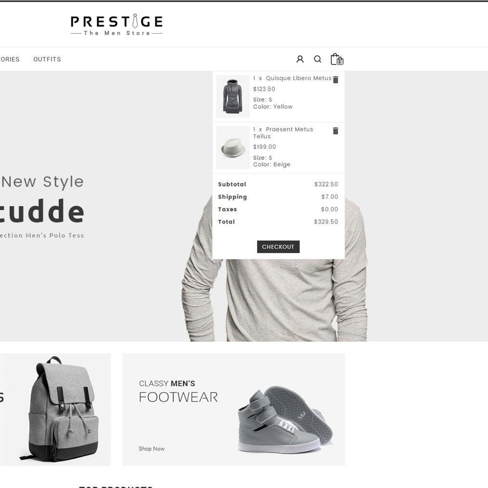 theme - Мода и обувь - Prestige Fashion Store - 7