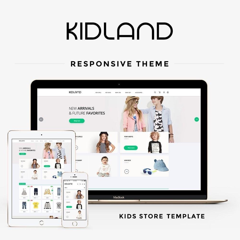 theme - Kids & Toys - Kidland - 1