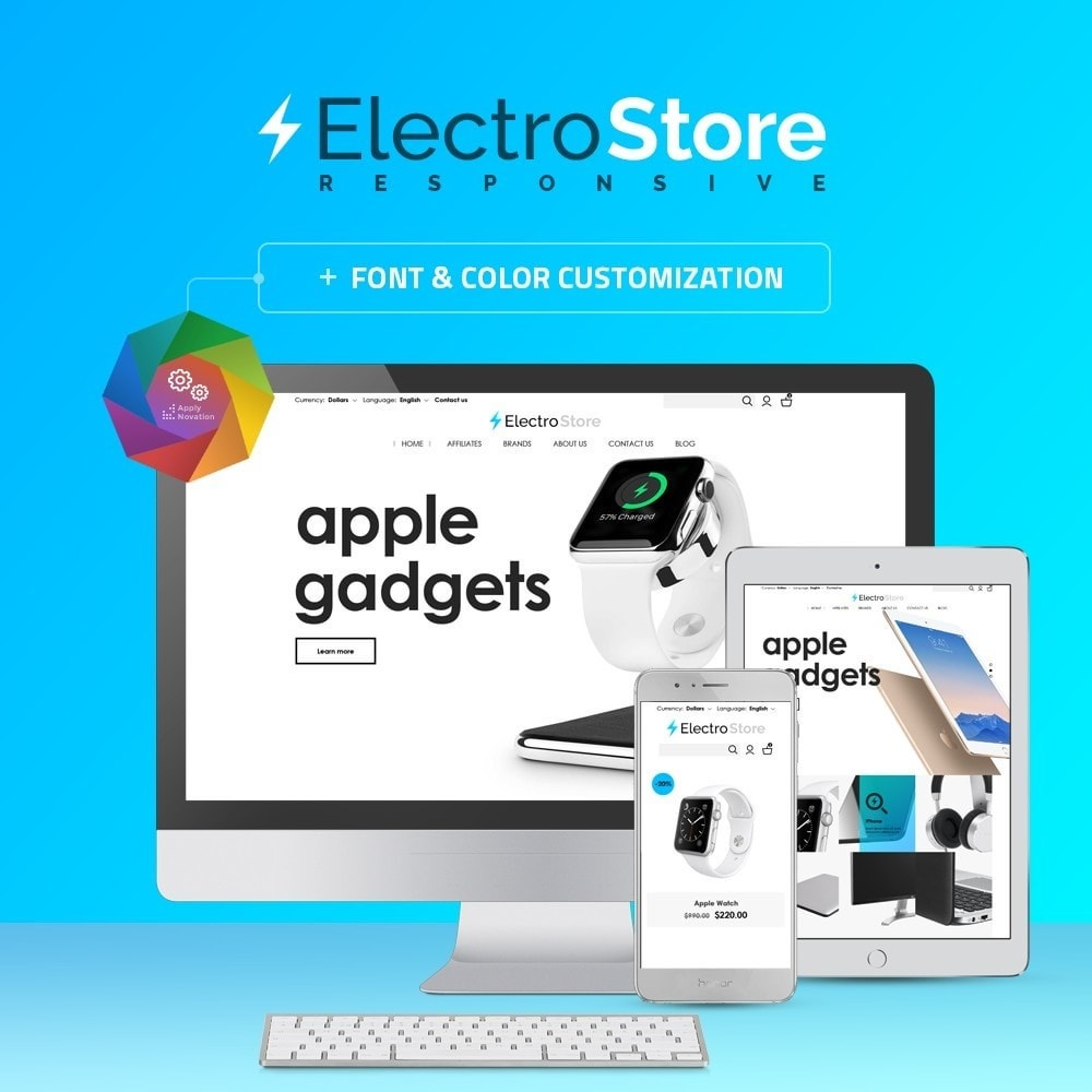 theme - Elektronica & High Tech - ElectroStore - 1