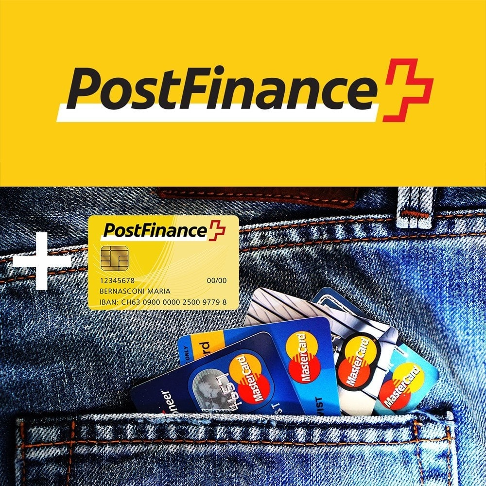 module - Payment by Card or Wallet - PostFinance - 1