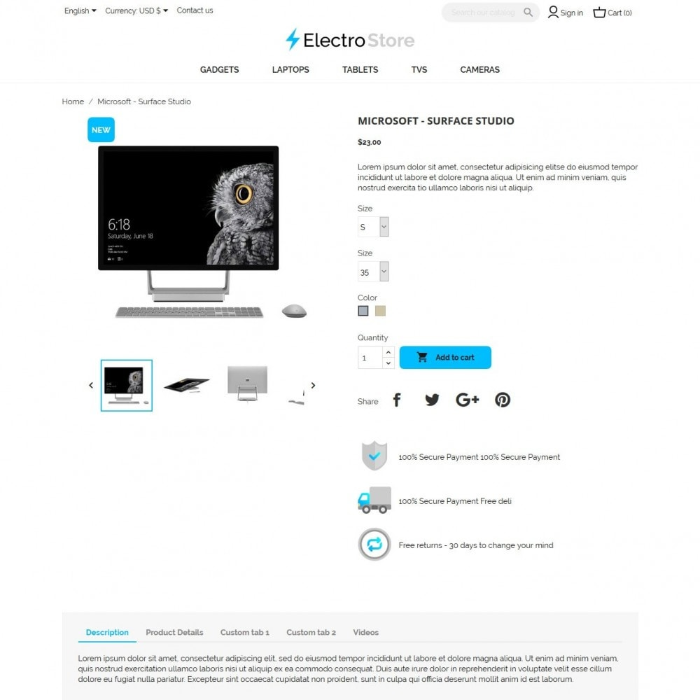 theme - Electronique & High Tech - ElectroStore - 7