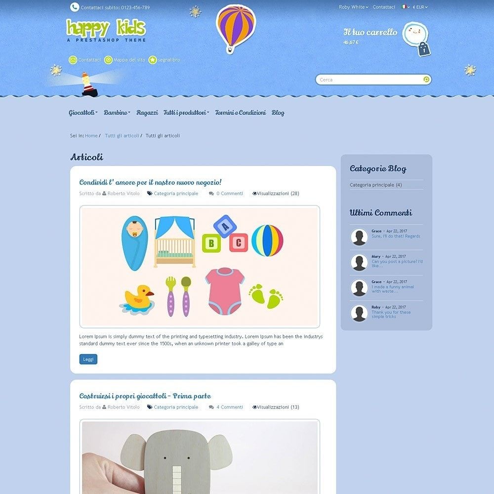 theme - Bambini & Giocattoli - Happy Kids - 13