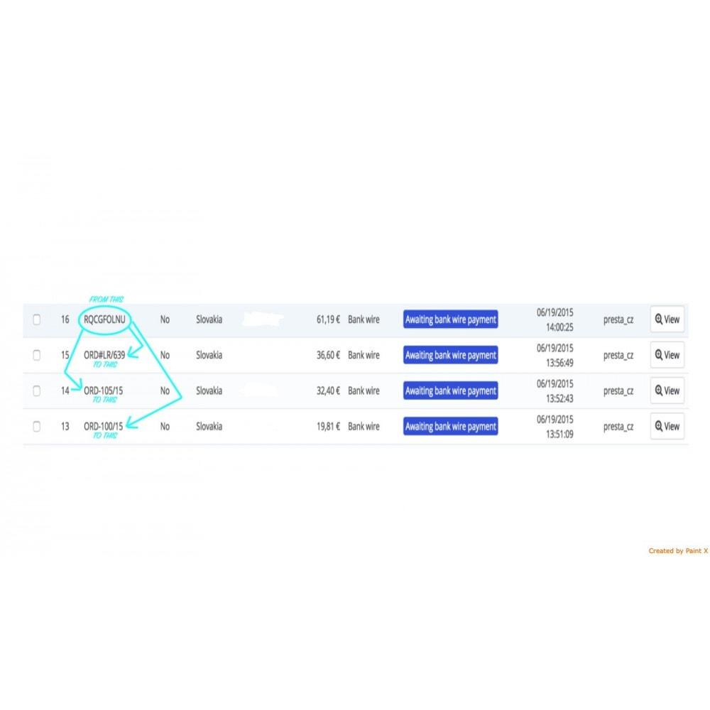 module - Gestion des Commandes - Génération avancé du numéro d´ordre, sa modification - 3