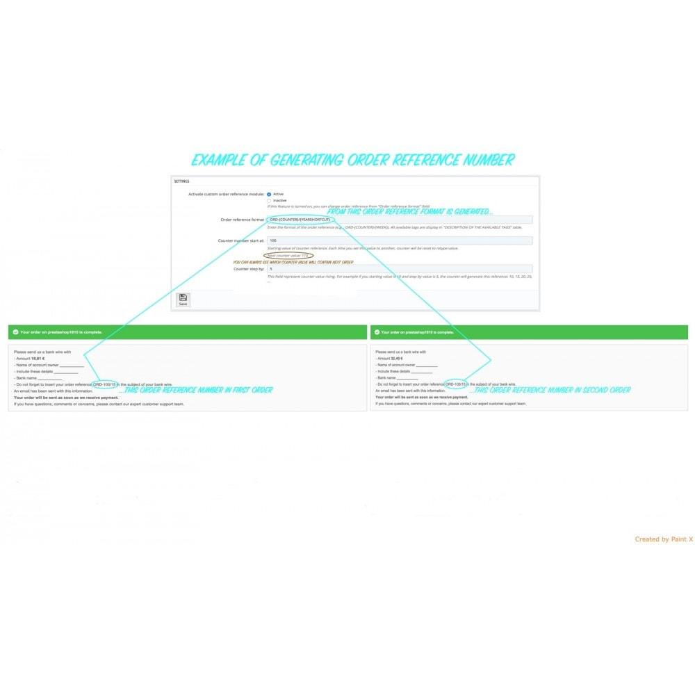 module - Gestion des Commandes - Génération avancé du numéro d´ordre, sa modification - 4