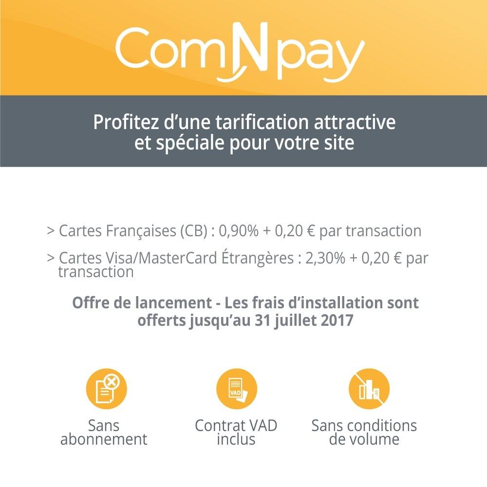 module - Paiement par Carte ou Wallet - ComNpay - 2