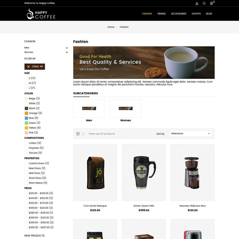 theme - Drink & Tobacco - Coffee Store - 3