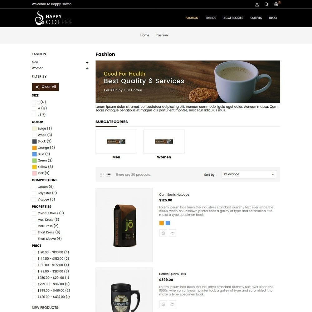theme - Drink & Tobacco - Coffee Store - 4