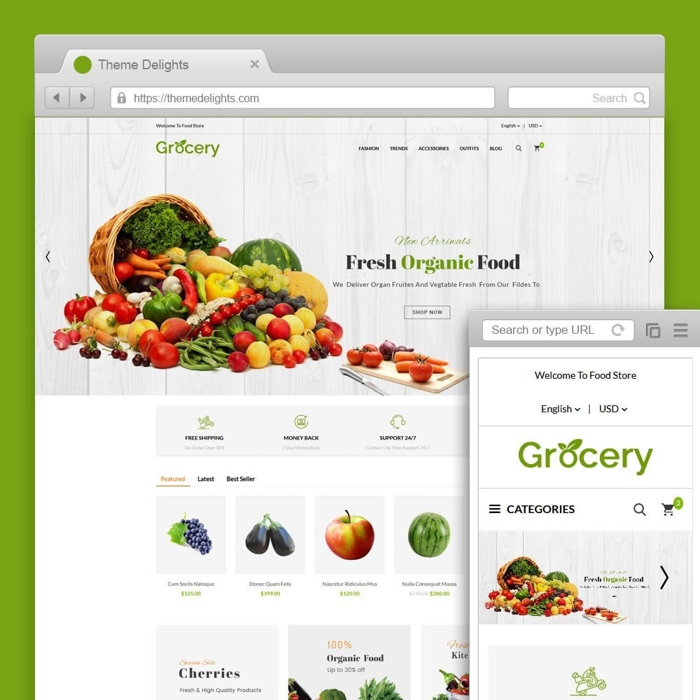 theme - Alimentation & Restauration - Grocery Store - 1