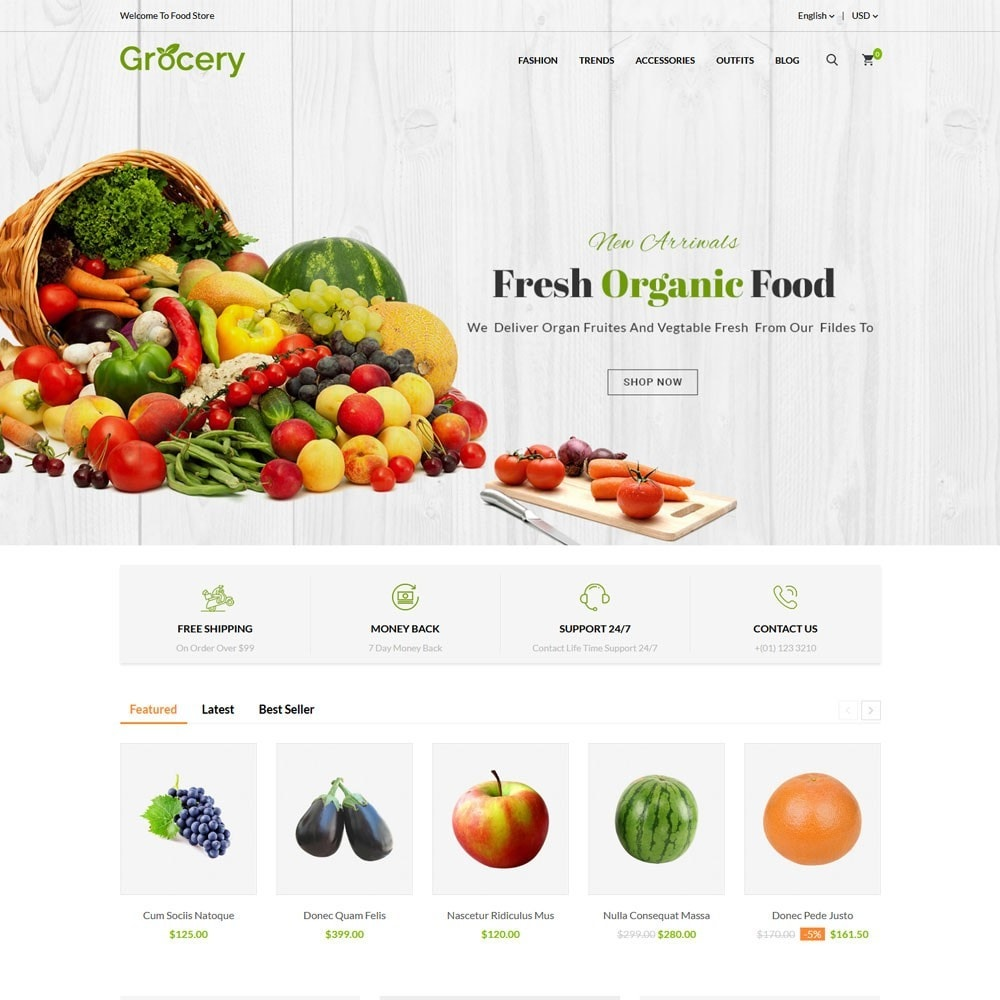 theme - Alimentation & Restauration - Grocery Store - 2