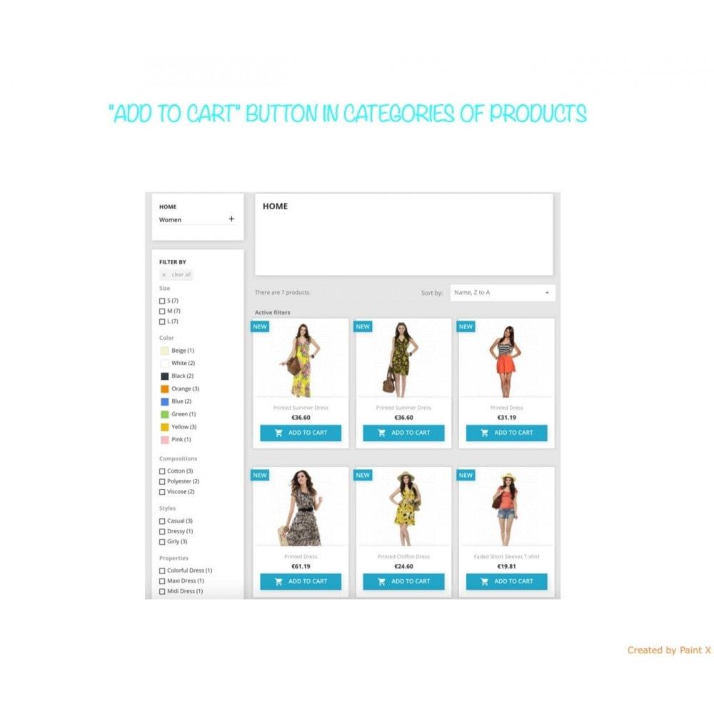 module - Inscription & Processus de commande - Afficher le bouton Ajouter au panier dans la liste - 2