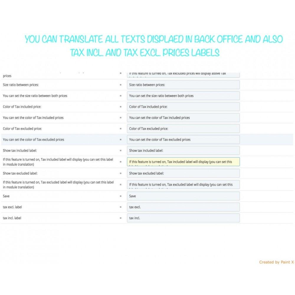 module - Gestion des Prix - Le double affichage des prix B2B avec TVA et sans TVA - 10