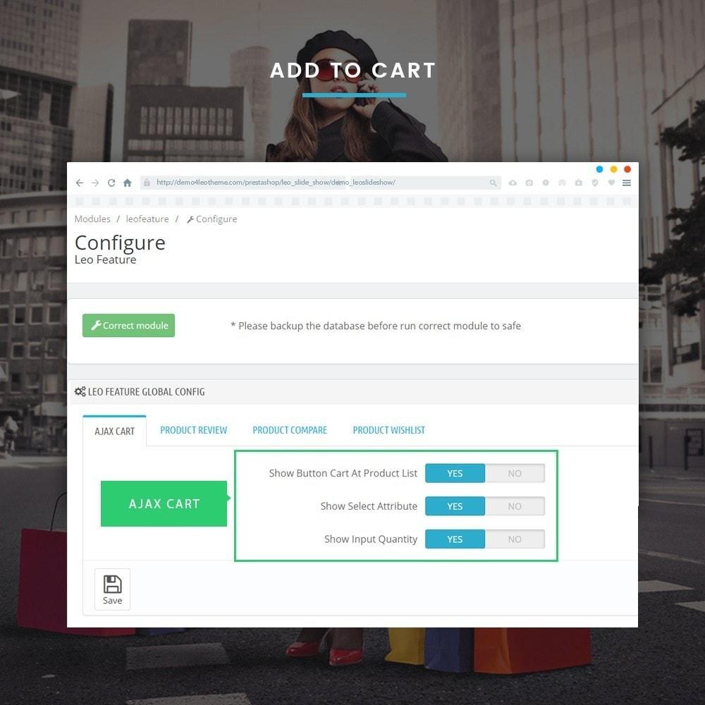 module - Combinaciones y Personalización de productos - Leo Feature Multipurpose - 7