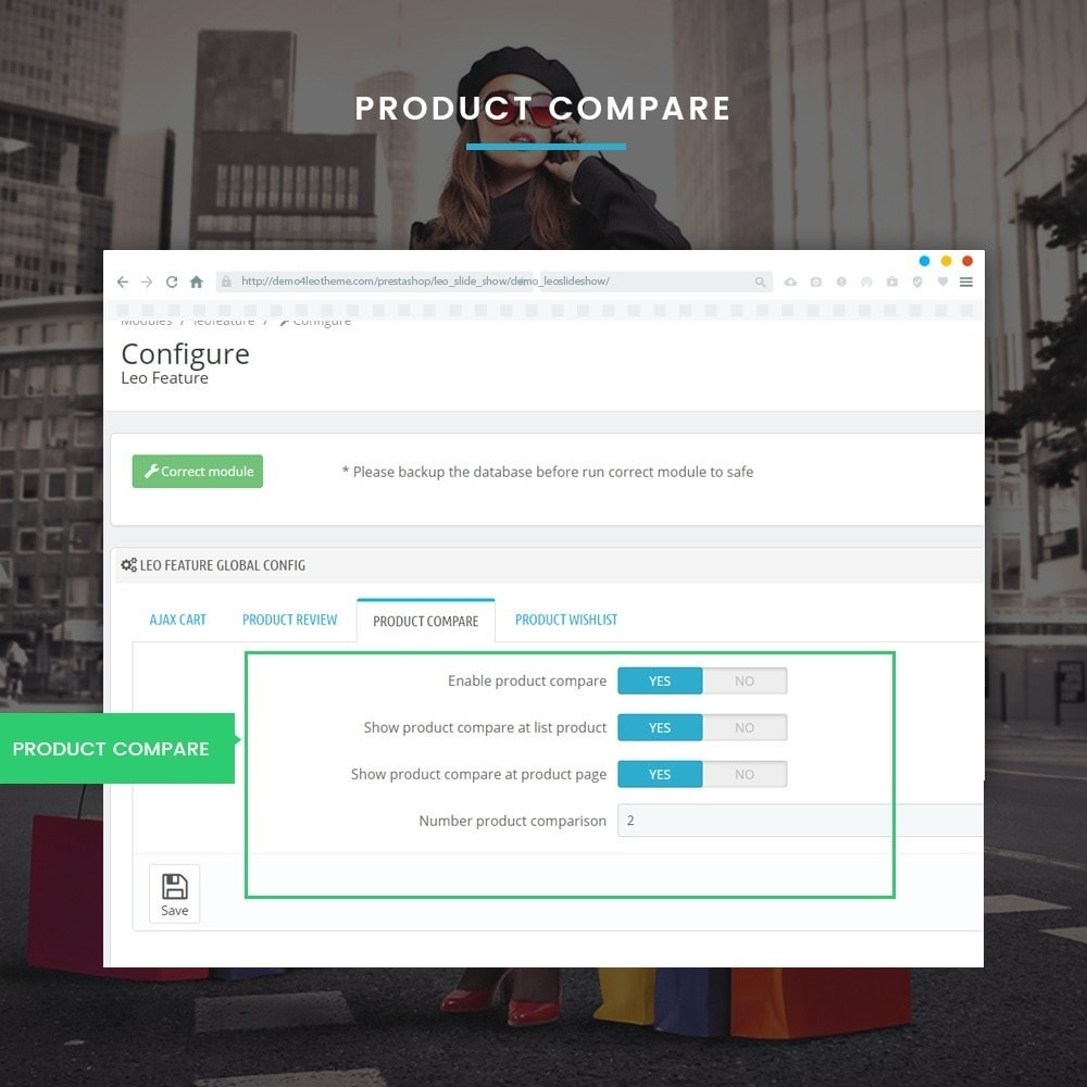 module - Diversificação & Personalização de Produtos - Leo Feature Multipurpose - 8