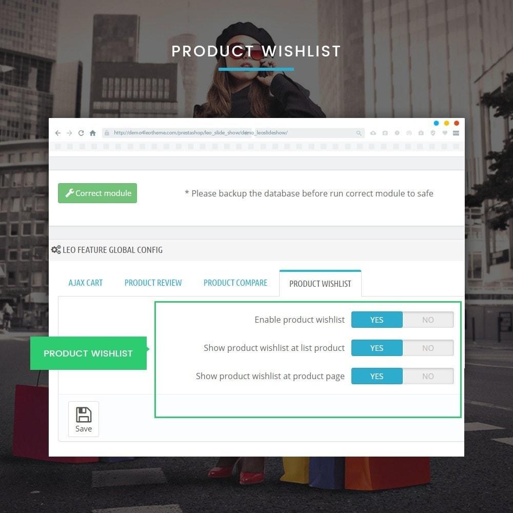 module - Diversificação & Personalização de Produtos - Leo Feature Multipurpose - 10
