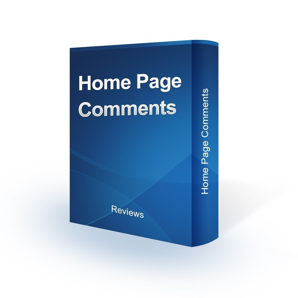 module - Avis clients - Home Page Comments - 1