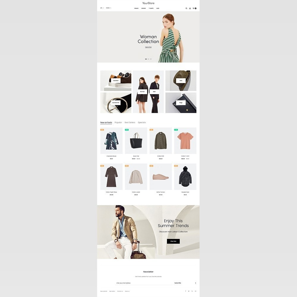 theme - Mode & Chaussures - mlc15 - A Unique and Modern e-Commerce - 2