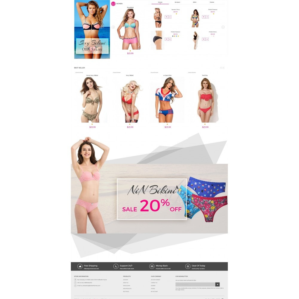 Bikini And Lingerie Shop