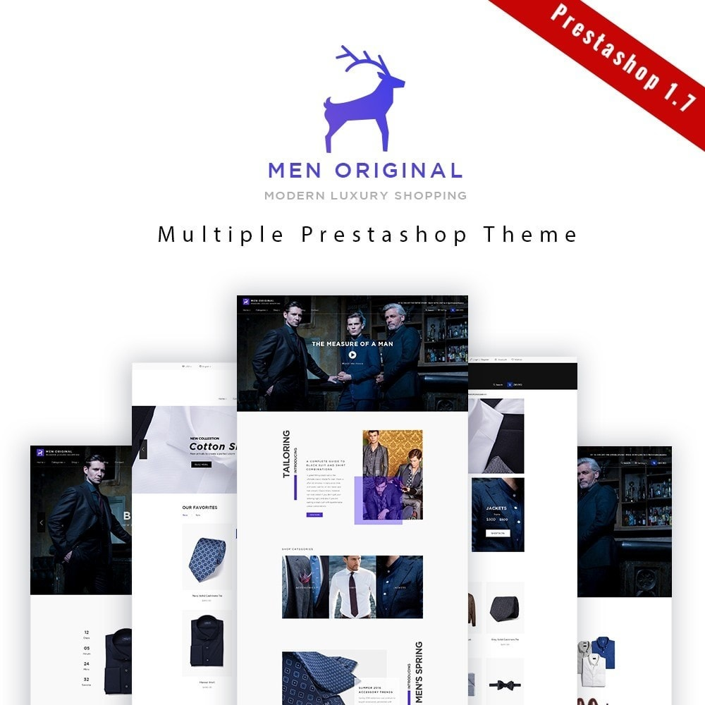 theme - Moda & Obuwie - Leo Men Original - 1