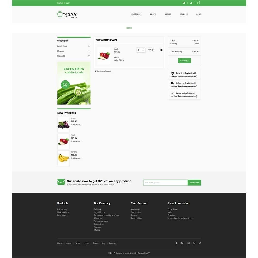 theme - Lebensmittel & Restaurants - Organic Food Store - 5
