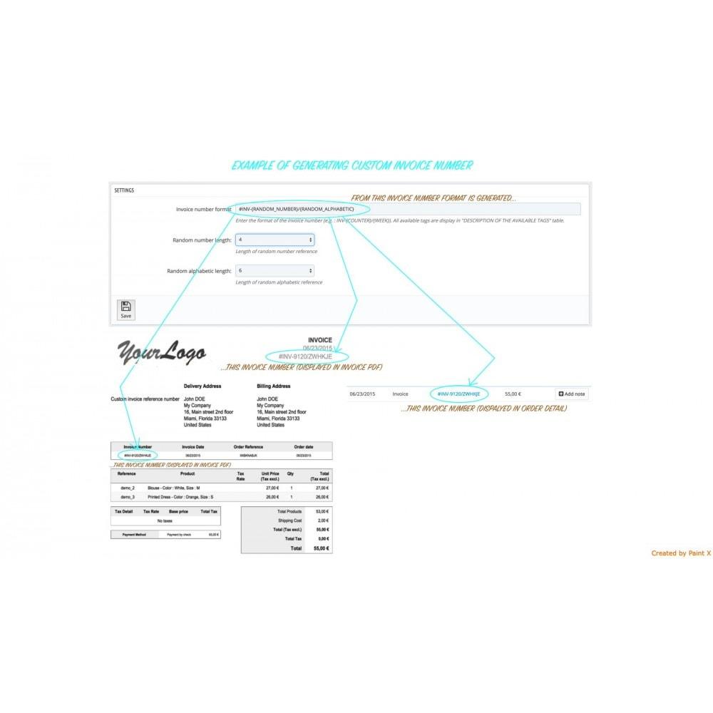 module - Contabilidad y Facturas - Generar, modificar y eliminar los números de facturas - 2