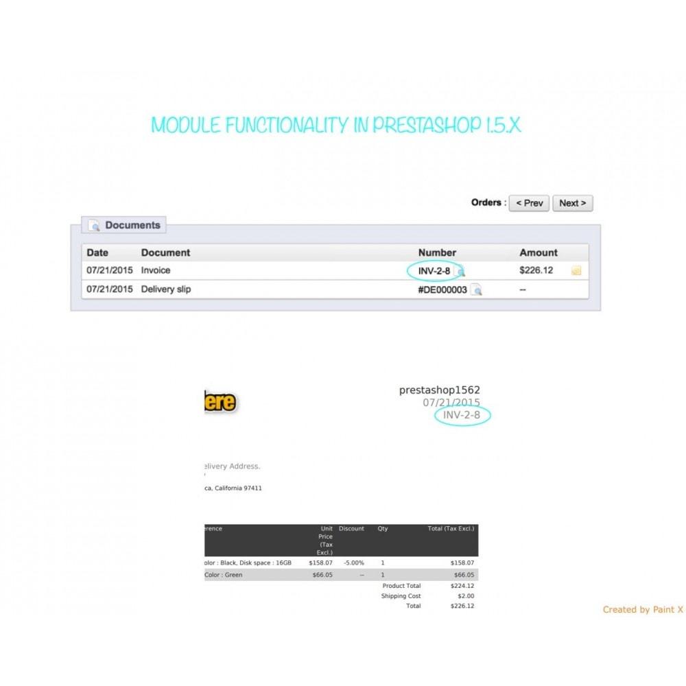 module - Contabilidad y Facturas - Generar, modificar y eliminar los números de facturas - 7