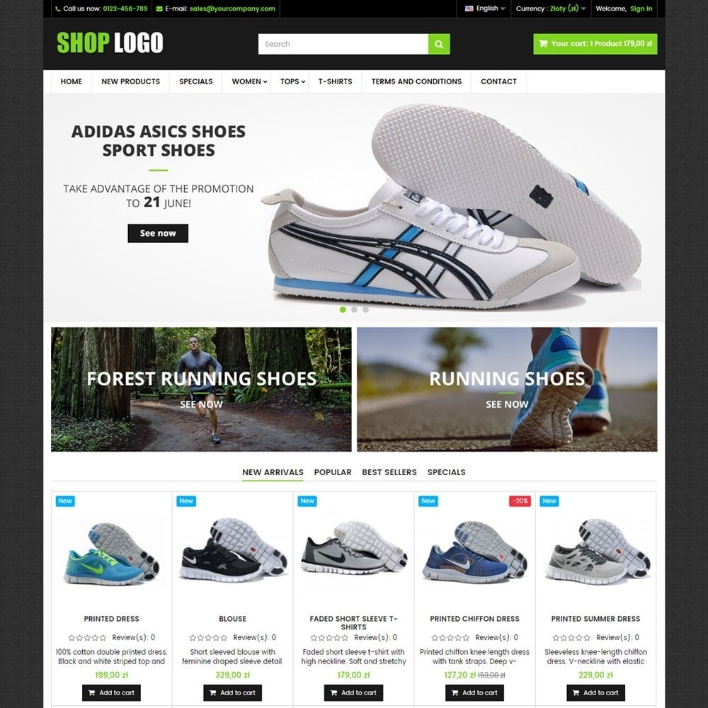 theme - Мода и обувь - ATS01 Sport and Shoes Store - 1