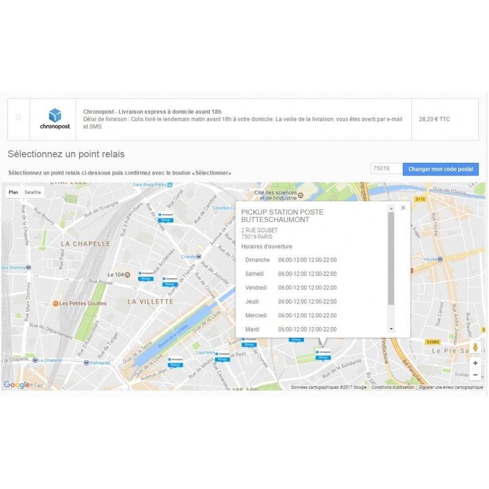 module - Transporteurs - Chronopost Officiel - 2