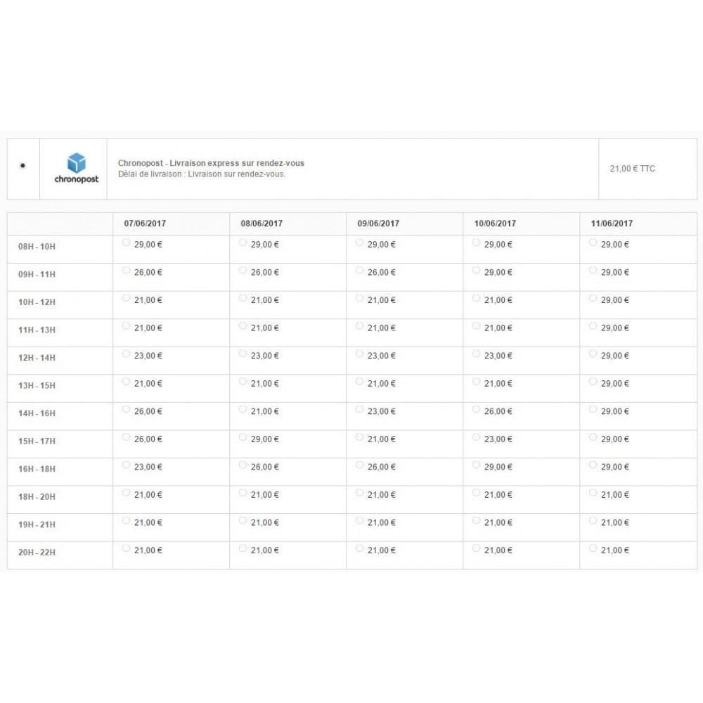 module - Transporteurs - Chronopost Officiel - 4