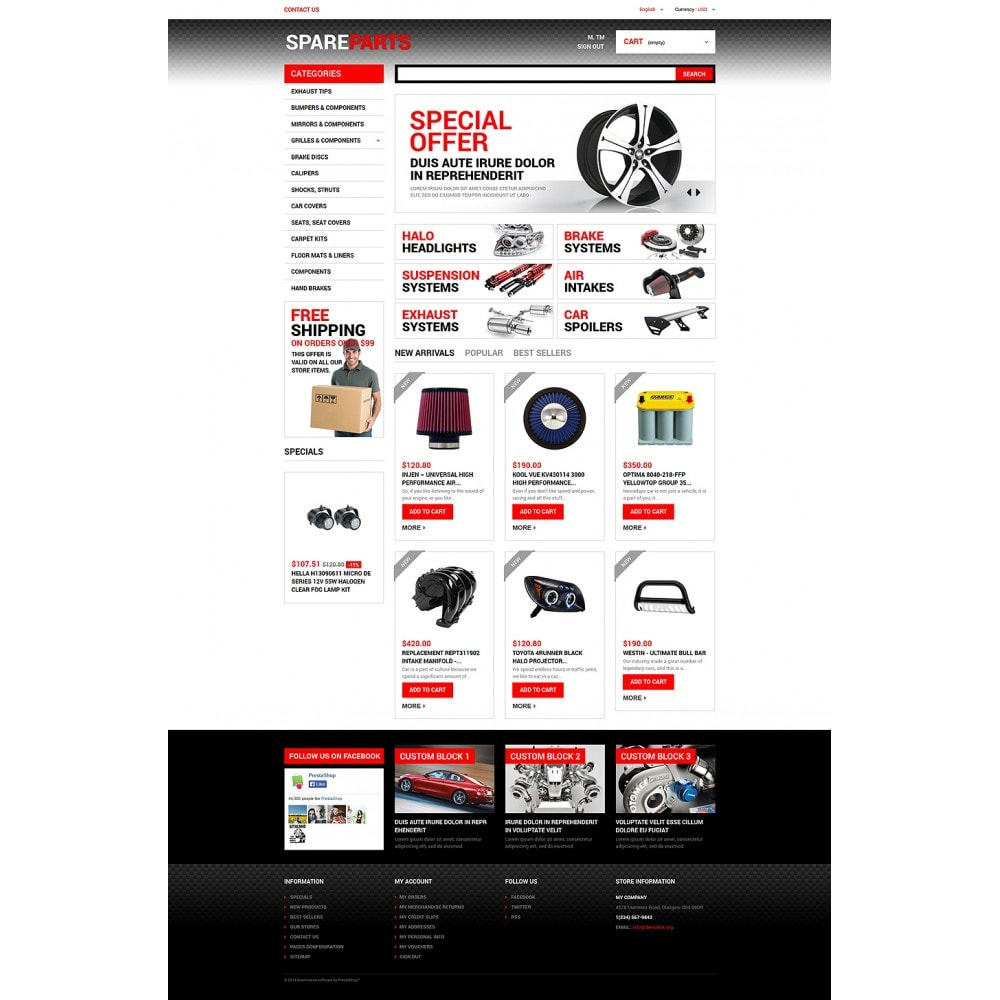 theme - Coches y Motos - Motor Spares - 2