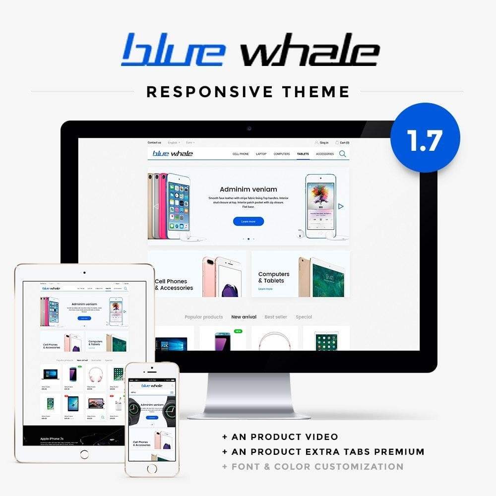 Blue Whale - High-tech Shop