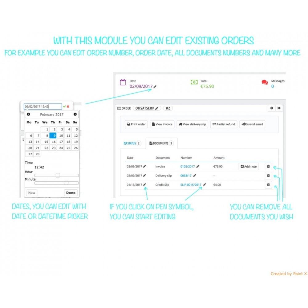 module - Gestión de Pedidos - Gestión avanzada de pedidos y números de documentos - 1